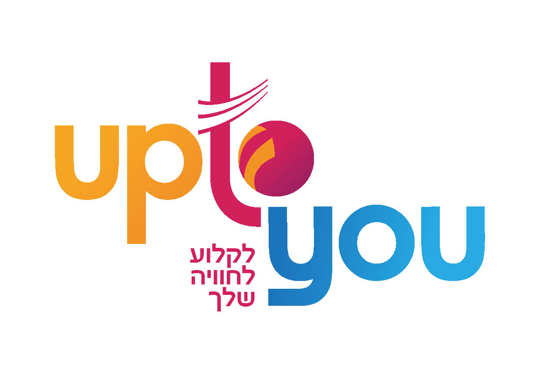 פרסום פיקנטי לקוח לוגו UP TO YOU